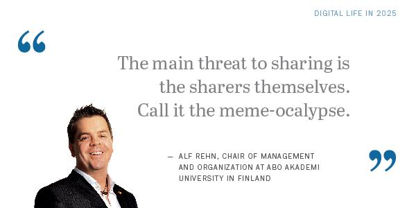 Future of the Internet: Alf Rehn