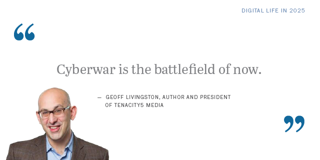 Geoff Livingston on the future of cyber attacks