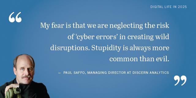 Paul Saffo on the future of cyber attacks