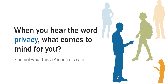 What Americans Think About Privacy
