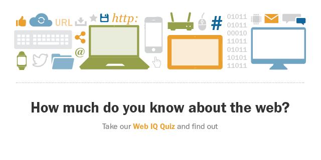Web IQ quiz