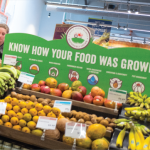 The produce section at the Whole Foods Market grocery store in Dublin, California